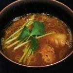 鴨蕎麦 尖 - 鴨白湯つけ汁