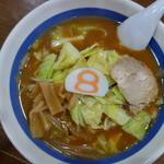 8番らーめん - 野菜らーめん(\560税抜き)