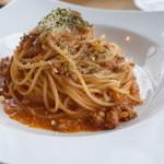スプーン ガーデン レストラン - 和牛のラグー極上のミートソースボロネーゼスパゲッティ