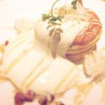 グラウンド アッシュ - ココナッツとメープルのパンケーキ