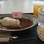 ジェイエムエスディーエフ カフェ - あきしおカレー850円