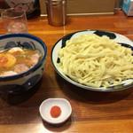 青葉 - 特製つけ麺 太麺 大盛り