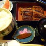 加茂う - 料理写真:長焼き定食☆2800円♪