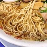 来来亭 - 麺はこんな感じ。
