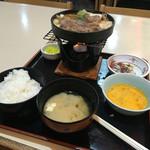 ギンザ鳴門 - 牛鍋膳1188円