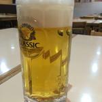 ギンザ鳴門 - 生ビール