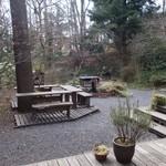49677835 - (2016/2月)庭のカフェスペース