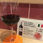 肉焼屋ワイン部 ジャストMEAT  - [ワイン図鑑] 7杯目のイタリアワイン。ワインで世界一周し、自分もかなり回っている。ワインらしいワイン。