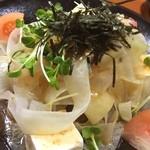 ぶんぶく茶屋 - 大根豆腐サラダ^_^