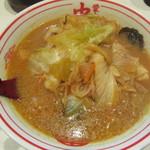 蒙古タンメン中本 - 味噌タンメン 780円