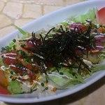 旨い魚とバリメシ 南風 - 海鮮サラダ