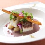 ヴィネット - 料理写真:ディナーの魚料理