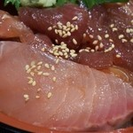 魚鮮水産 三代目網元 - 日替りの漬け丼