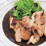 てんやわんや - 鶏の山椒焼き