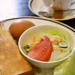 豆蔵 - 料理写真:モーニングセットの内容