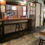 昭和ホルモン食堂 - お店の片隅は名前の通り昭和の時代の品物がならんでました・・・・