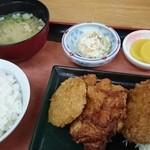 大衆食堂めしどき  - 料理写真:ワンコイン フライ定食♪