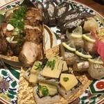 49690406 - 田舎寿司 皿鉢盛り