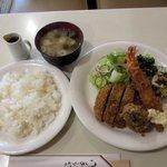 喫茶 プランタン - 日替わりメニュー(ランチ)2016.04.12