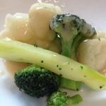 グラン・クロス - 温野菜のバーニャカウダ
