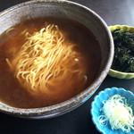 魚季亭 - 海苔ラーメン  650円