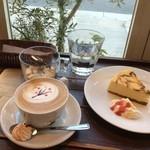 コーヒーマーケット - NYチーズケーキも(*´˘`*)♪