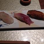 寿司ひでぞう - 鯛・鯵・煮穴子