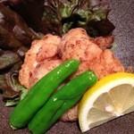 寿司ひでぞう - 真鱈のほほ肉の唐揚げ
