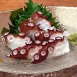 寿司ひでぞう - 淡路湯ダコ