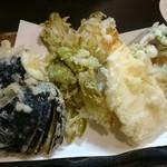 なか乃 - 野菜の天ぷら盛 750円