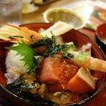 炉端かば - 海鮮丼!