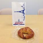 ビゴの店 - ドリンク写真:フレッシュバターを使用した風味豊かなクロワッサン!!