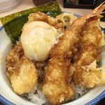 Santen - 温泉卵のせオリジナル天丼!