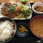 満マル - 生姜焼き定食!