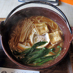 花かご - 料理写真:味噌煮込みうどん