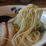 ばりきや - 麺(ハリガネ)