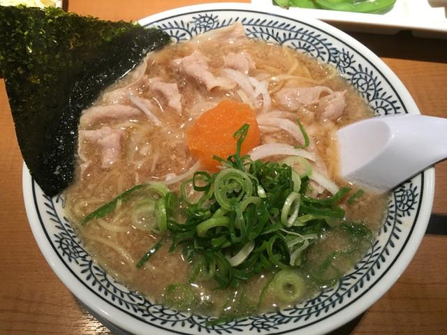 丸源ラーメン  三島店 - 肉そば 702円