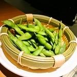 いなせ屋 - ほくほく茹であげ茶豆