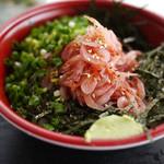浜のかきあげや - 料理写真:桜えびの沖漬丼~☆
