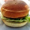 米山サービスエリア上り ショッピングコーナー - 料理写真:番屋バーガー