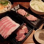 豚の華 網走店 - 食べ放題の初回提供品
