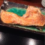 mihashiya - メインの銀じゃけ(食べやすくひっくり返す)