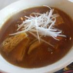 レストラン グリーンパーク - カレー蕎麦(冬季限定)600円