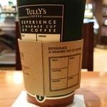 タリーズコーヒー - 裏側からの。