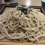 信濃庵 - お蕎麦は万人うけする信州蕎麦、名前が信濃庵ですもんね。