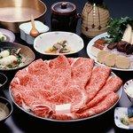 丸小 - 料理写真:特選すき焼きコース 11,000円