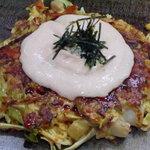 お好み焼き田よし・雫 - 明太マヨがけの男爵チーズ玉