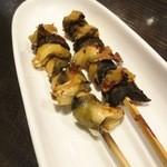 奥志摩 - アカニシ貝の串焼き