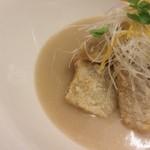 料理や こうしゅう庵 - 八幡芋のオランダ煮