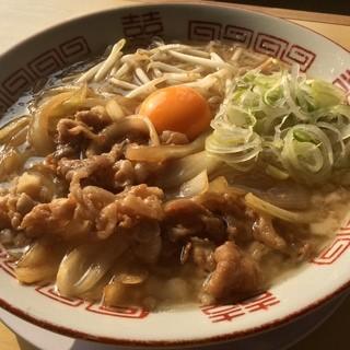 ビリケンラーメン - 料理写真:肉そば醤油